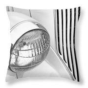 Headlight 7 Throw Pillow