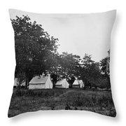 Headquarters - Army Of The Potomac - Fairfax Courthouse Virginia 1863 Throw Pillow