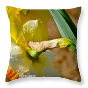 Heads Bowed Throw Pillow