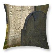 Headstones Throw Pillow
