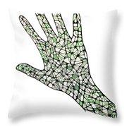 Healing Hands 1 Throw Pillow
