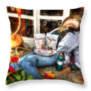 Health Food Store Throw Pillow
