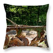 Heap Of History Throw Pillow