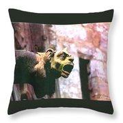 Hear No Evil Throw Pillow
