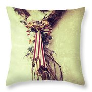 Heart Of Roots  Throw Pillow