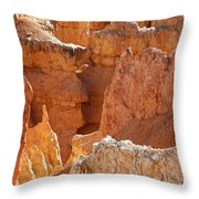 Heart Of The Hoodoos Throw Pillow
