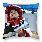 Heart To Heart Play At 1st Nativity International Christmas Festival Throw Pillow