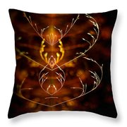 Heartbeat II Throw Pillow