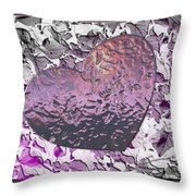 Heartistry Two Throw Pillow