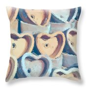 Hearts A Plenty Throw Pillow