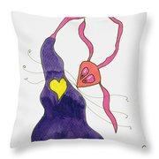 Heart's Delight Throw Pillow