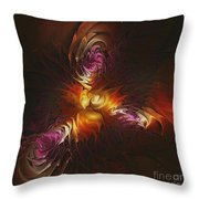 Heat Of Passion Throw Pillow