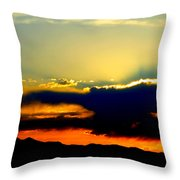 Heaven Is Watching Throw Pillow