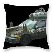 Heaven Or Hell Car Throw Pillow