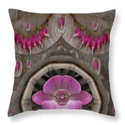 Heavenly Peace And A Roof Of Love Throw Pillow