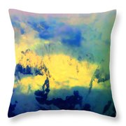 Heaven's Colors Throw Pillow