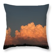 Heavens Gate Throw Pillow