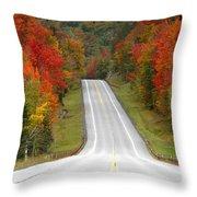 Heavens Highway Throw Pillow