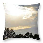 Heaven's Light 2 Throw Pillow