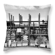 Heavy Metal Palm Springs  Throw Pillow