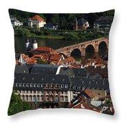 Heidelberg Germany Throw Pillow