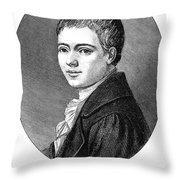 Heinrich Von Kleist Throw Pillow