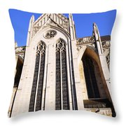 Heinz Chapel Throw Pillow by Thomas R Fletcher