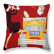 Held - Sheik And Sheba 1925 Throw Pillow
