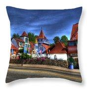 Helen Square Throw Pillow