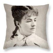 Helena Modjeska (1840-1909) Throw Pillow