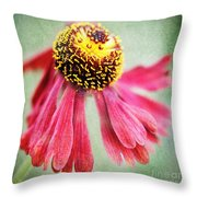 Helenium Flower 2 Throw Pillow