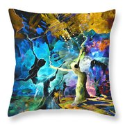 Hello And Bye Throw Pillow