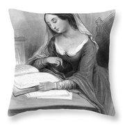 Heloise (c1101-c1163) Throw Pillow
