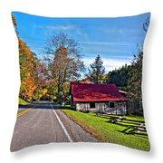 Helvetia Wv Throw Pillow by Steve Harrington