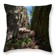Helvetinkolu Throw Pillow