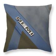 Hemi Emblem Throw Pillow