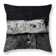 Hence Forth From The Full Moon Throw Pillow