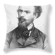 Henri Mouhot (1826-1861) Throw Pillow
