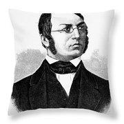Henrik Arnold Wergeland Throw Pillow