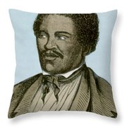 Henry Box Brown, African-american Throw Pillow
