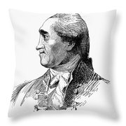 Henry Flood (1732-1791) Throw Pillow