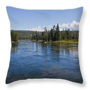 Henry Fork Of The Snake River Throw Pillow