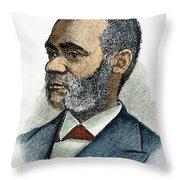 Henry Highland Garnet Throw Pillow
