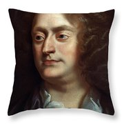 Henry Purcell Throw Pillow