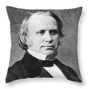 Henry Wilson Throw Pillow