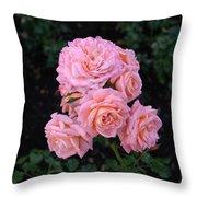 Her Roses Throw Pillow