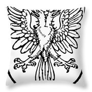 Heraldry: Birds Throw Pillow