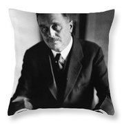 Herbert George Wells Throw Pillow
