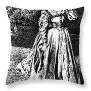 Herbert: Vanity Throw Pillow