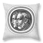 Hercules And Hylas Throw Pillow